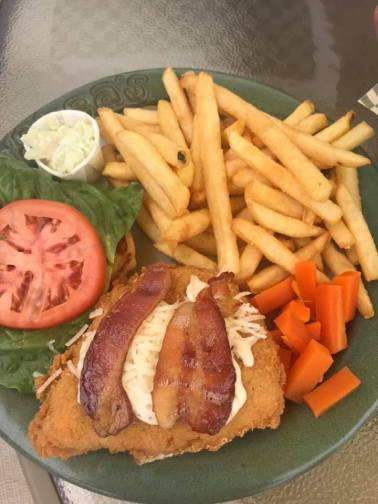 Chicken Caesar Burger at O'Sheas Pub and Eatery