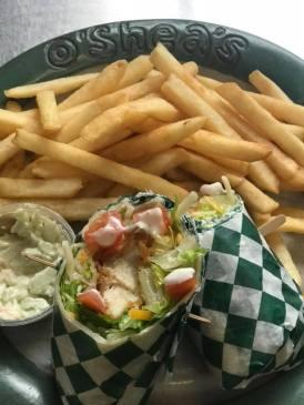 Chicken Ranch BLT Wrap at O'Sheas