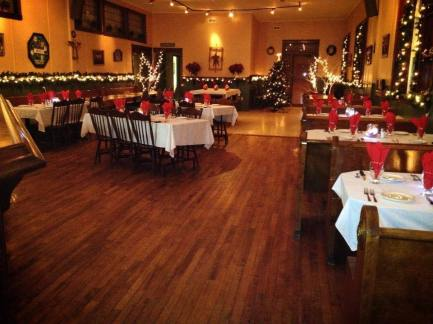 Christmas party at O'Sheas Pub and Eatery