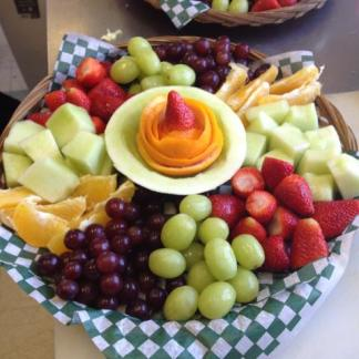 Fruit platter for special functions at OSheas Pub and Eatery
