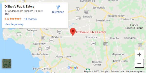 Google map OSheas