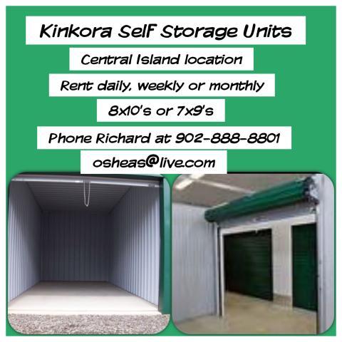 Self Storage Units in Kinkora